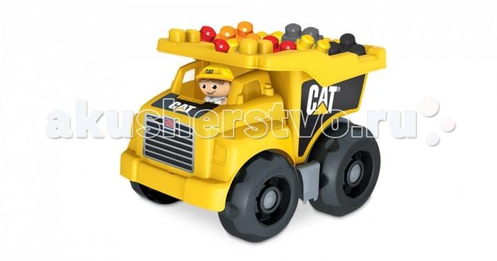 Машины Mega Bloks Mattel Cat Большой самосвал