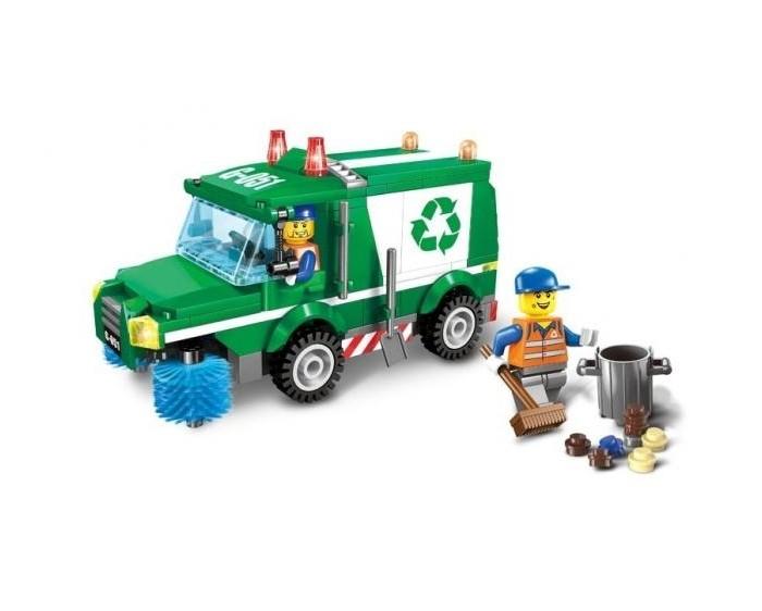 Картинка для Enlighten Brick Машина для чистки дорог (198 деталей)