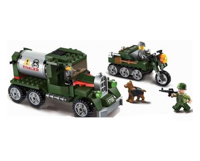 Картинка для Enlighten Brick Военная база Combat Zone (223 детали)