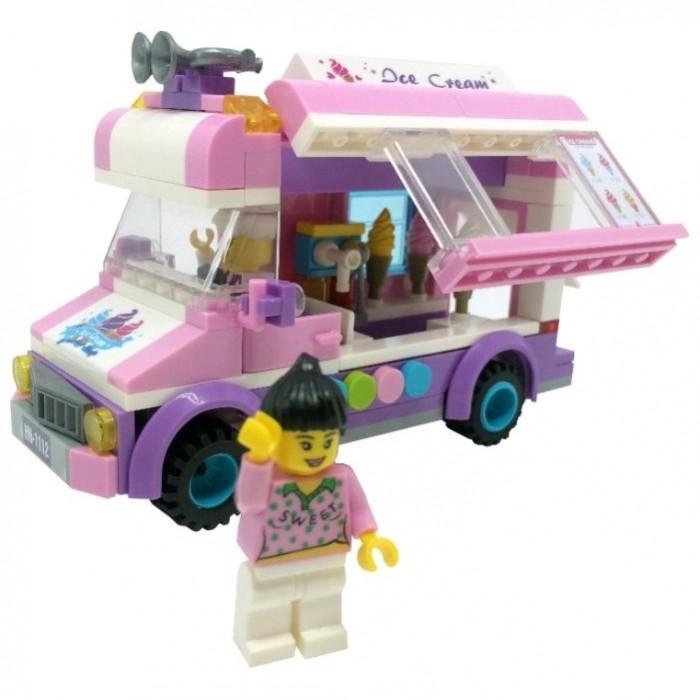 Сборные модели Enlighten Brick Машина мороженщицы (212 деталей)