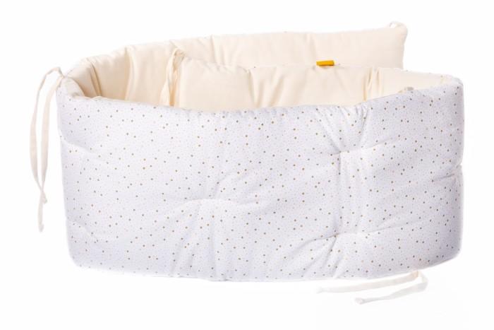 Бортик в кроватку HoneyMammy Gold Asterisk 180x25 см