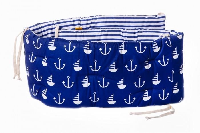 Бортик в кроватку HoneyMammy Sea Voyage 180x25 см