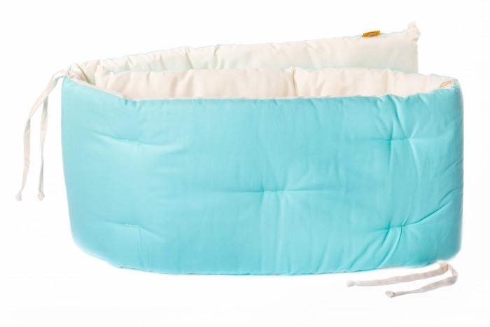 Бортик в кроватку HoneyMammy Turquoise 180x25 см