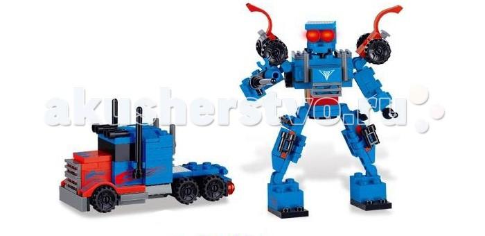 Роботы Zhorya Робот-машина (110 деталей) конструктор игрушечный zhorya робот вертолет