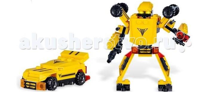 Конструкторы Zhorya Робот-машина (84 деталей) zhorya zhorya радиоуправляемая машина авто робот желтая