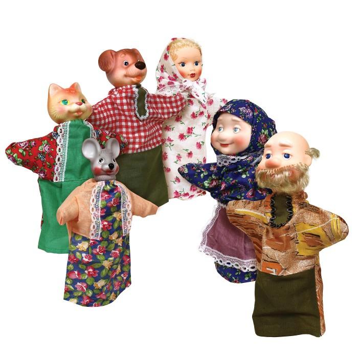 Ролевые игры Огонек Кукольный театр Репка С-1344 ролевые игры жирафики кукольный театр репка 6 кукол