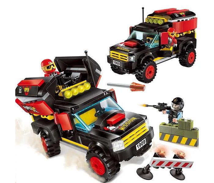 Сборные модели Enlighten Brick Police (240 деталей)