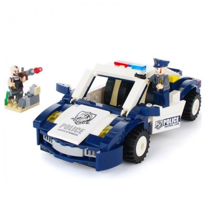 Картинка для Конструктор Enlighten Brick Police Полицейский автомобиль (303 детали)