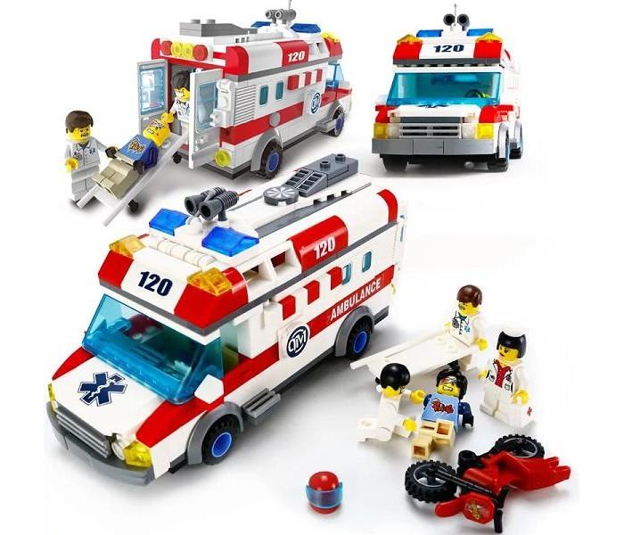 Enlighten Brick Машина скорой помощи (328 деталей) фото