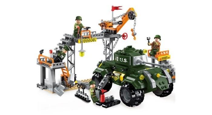 Enlighten Brick Военная база Combat Zone (396 деталей) Г85797