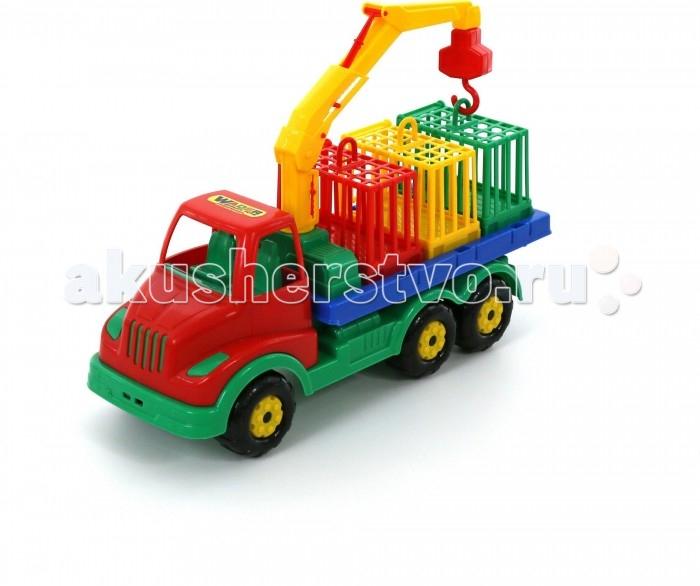 Машины Полесье Автомобиль для перевозки зверей Муромец полесье автомобиль дпс москва полесье