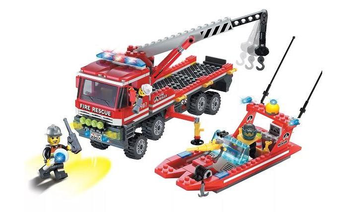 Купить Сборные модели, Enlighten Brick Fire Rescue (420 деталей)