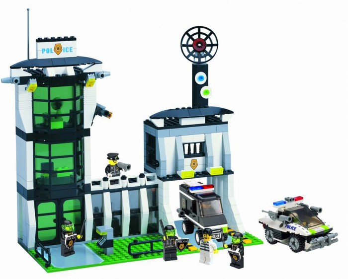 Enlighten Brick Riot Police Office (589 деталей) Г21624