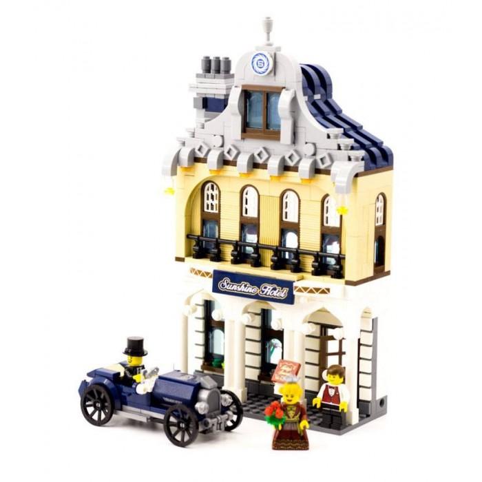 Конструктор Enlighten Brick Отель Саншайн (628 деталей) Г79600