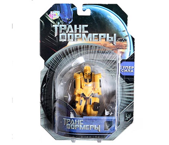 Роботы Play Smart Робот-трансформер Барс город игр робот трансформер hot wings машинка жук