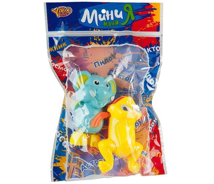 Фото - Игрушки для ванны Yako МиниМания Набор из 2-х заводных игрушек для воды В85557 полесье набор игрушек для песочницы 468 цвет в ассортименте