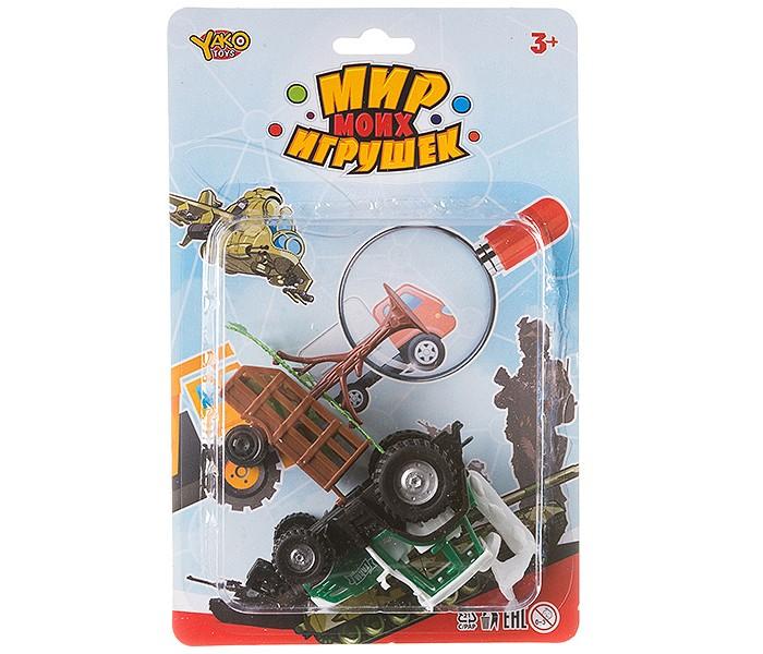 Фото - Машины Yako Мир micro игрушек Набор Ферма (6 предметов) полесье набор игрушек для песочницы 468 цвет в ассортименте