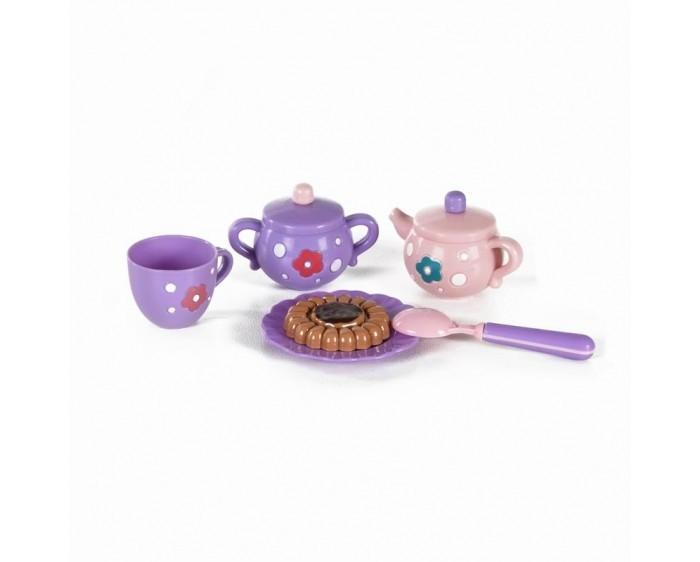 Ролевые игры Yako МиниМаниЯ Набор пластмассовый Чайный сервиз (6 предметов) терка измельчитель мечта хозяйки набор – 13 предметов