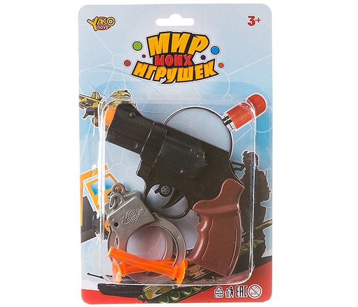 Ролевые игры Yako МиниМаниЯ Набор Полиция (4 предмета) ролевые игры yako минимания набор парикмахера пластмассовый