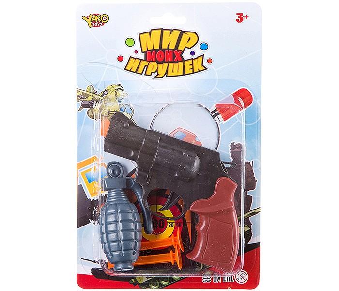 Ролевые игры Yako МиниМаниЯ Набор Полиция (5 предметов) ролевые игры yako минимания набор парикмахера пластмассовый
