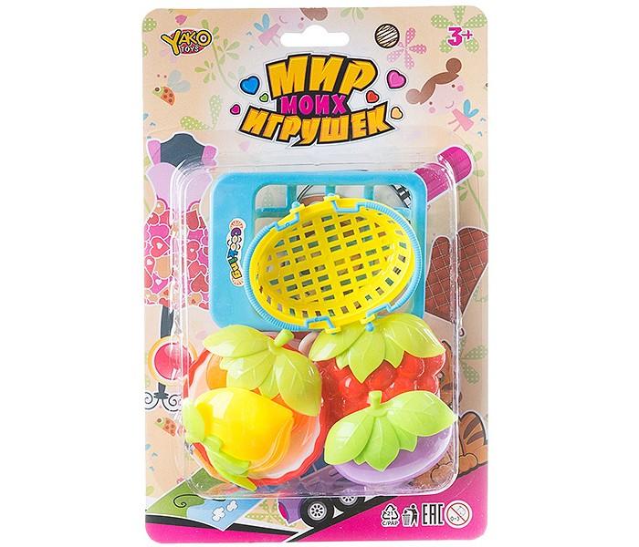 Ролевые игры Yako Мир micro игрушек Набор пластмассовой посуды (7 предметов) набор посуды gipfel antea 7 предметов