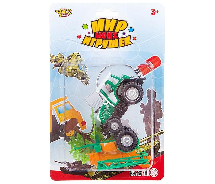 Купить Yako Мир micro игрушек Набор с трактором (3 предмета) в интернет магазине. Цены, фото, описания, характеристики, отзывы, обзоры