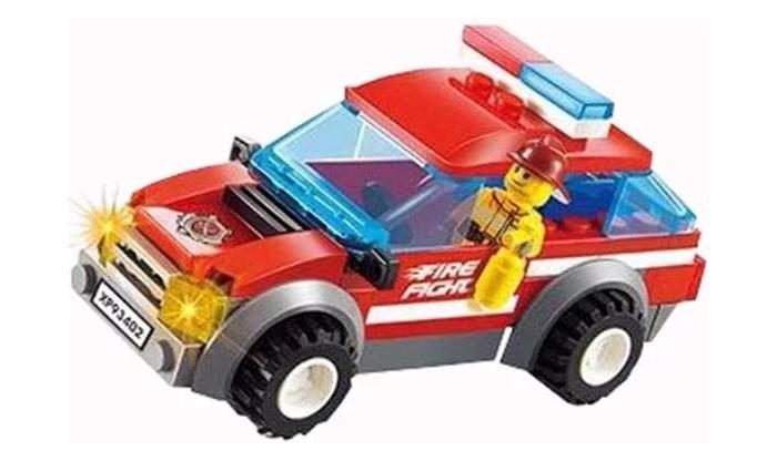 Картинка для Сборные модели Play Smart Героический пожарный (72 детали)