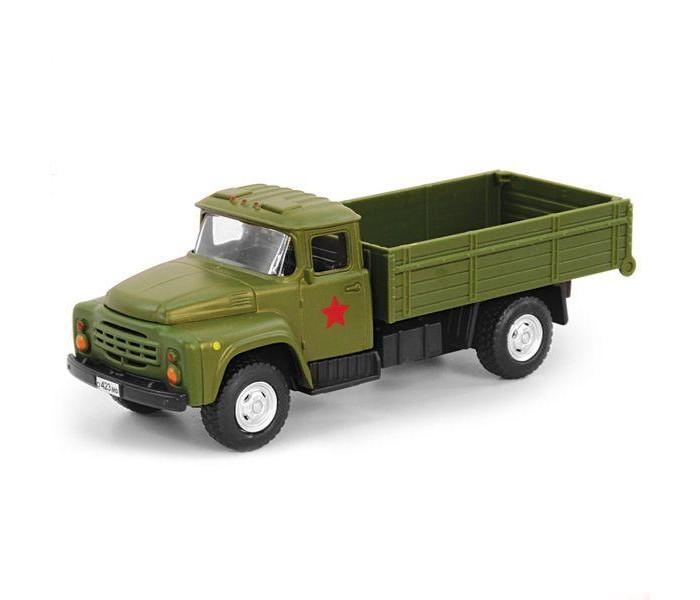 Машины Play Smart Машина инерционная Автопарк Военный грузовик 1:52 машины play smart инерционный грузовик продукты