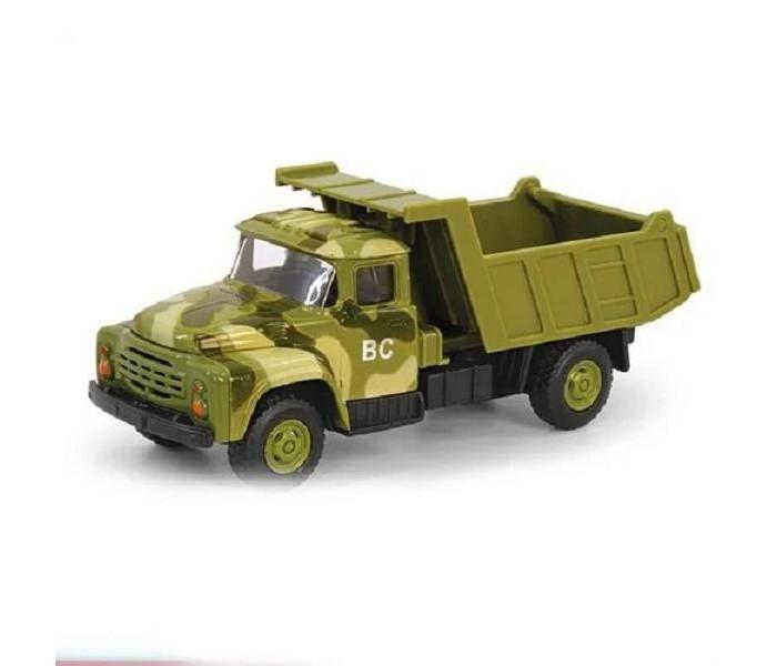Машины Play Smart Машина инерционная Автопарк Военный грузовик 1:52 А79171 машины play smart инерционный грузовик продукты