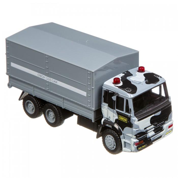 Машины Play Smart Грузовик Автопарк 1:54 машины play smart инерционный грузовик продукты