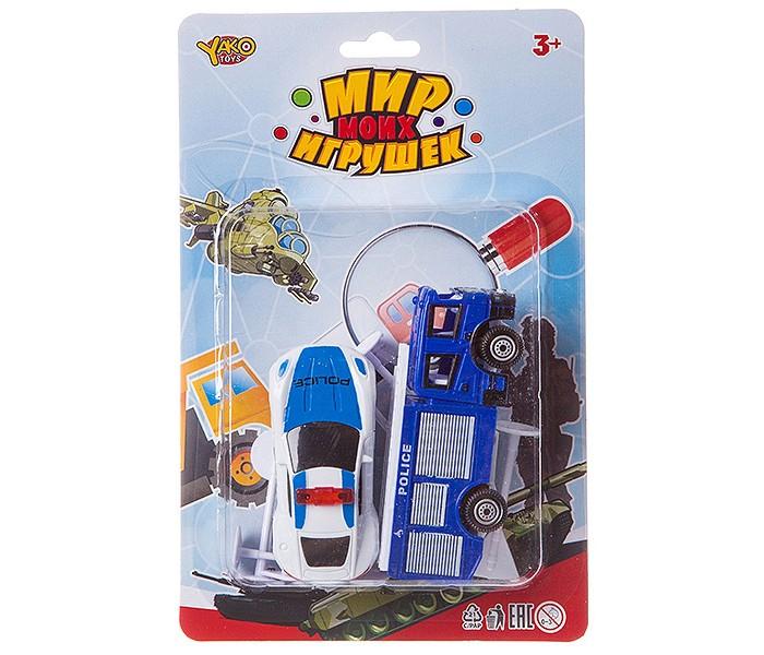 Фото - Машины Yako Мир micro игрушек Набор Полицейский участок (8 предметов) полесье набор игрушек для песочницы 468 цвет в ассортименте