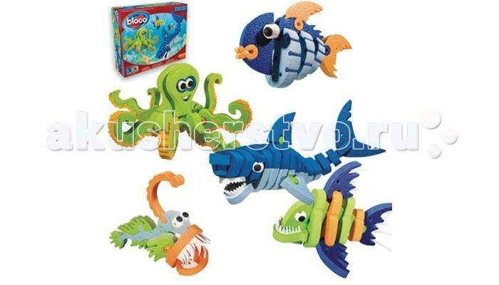 Конструктор Bloco Морские животные 30241Морские животные 30241Конструктор Bloco 30241 Морские животные.  Акула, Осьминог, Пиранья и прочие, даже воображаемые морские животные, оживут вместе с набором Bloco Морские животные. Познакомьте ребенка с этим удивительным миром животных, которые принесут экзотику в игру и погрузят его в новый мир, где будут выполняться любые его желания и приказы.  Из 235 деталей конструктора можно собрать шесть основных морских обитателей. Яркие, красочные детали данного набора имеют окраску синих, голубых, зеленых и желтых цветов. Собирать модели очень просто, благодаря удобной системе соединений и даже маленькие пальчики справятся с этими задачами. Все детали конструктора полностью совместимы с элементами других наборов, что дает широкий спектр возможностей.<br>