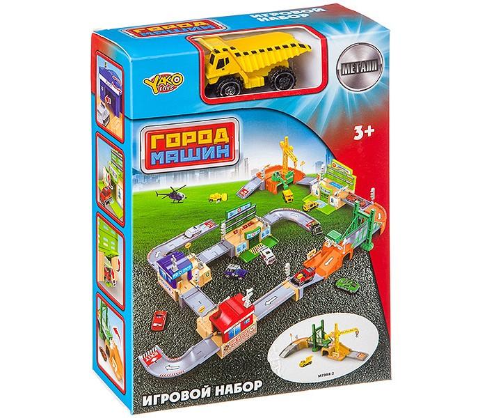 Игровые наборы Yako Набор игровой Мини-паркинг Стройплощадка