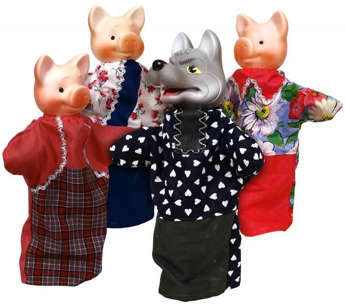 Ролевые игры Огонек Кукольный театр Три поросенка умка кукольный театр три поросенка