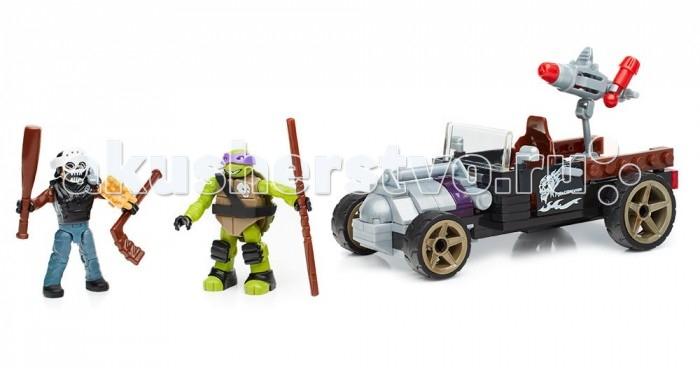 Mega Bloks Mattel Черепашки Нинзя: Лихач Донни (129 деталей) черепашки нинзя