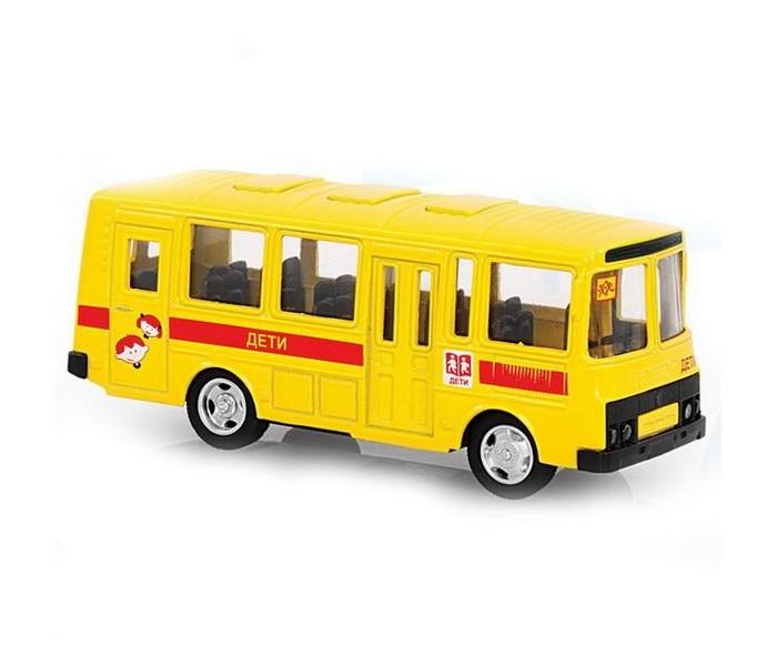 Машины Play Smart Автобус Дети инерционный Автопарк 1:61