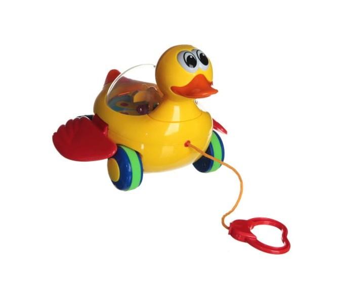 Картинка для Каталка-игрушка Play Smart Утка на веревочке