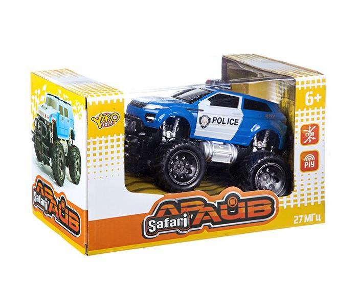 Радиоуправляемые игрушки Yako Джип на радиоуправлении FullFunc Safari Драйв М81623 машинка на радиоуправлении yako toys toys джип пластмасса металл от 6 лет чёрно оранжевый