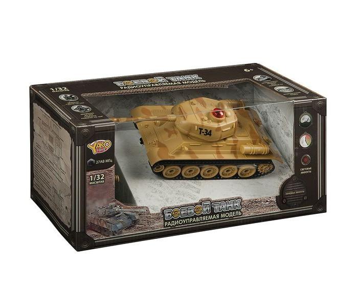 Радиоуправляемые игрушки Yako Боевой танк на ИК управлении Full Func М85763 танк yako амфибия y 12272002