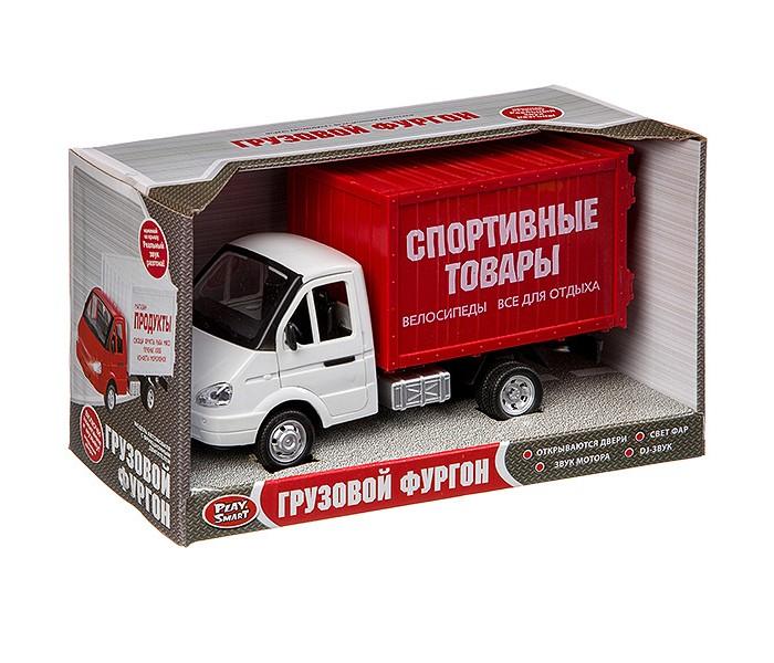 Машины Play Smart Инерционный грузовик Спортивные товары машины play smart инерционный грузовик продукты