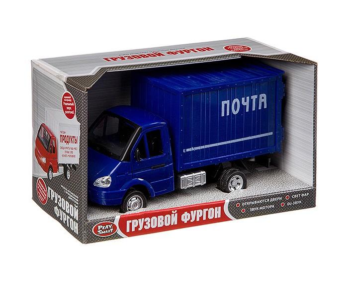 Машины Play Smart Инерционный грузовик Почта машины play smart инерционный грузовик продукты