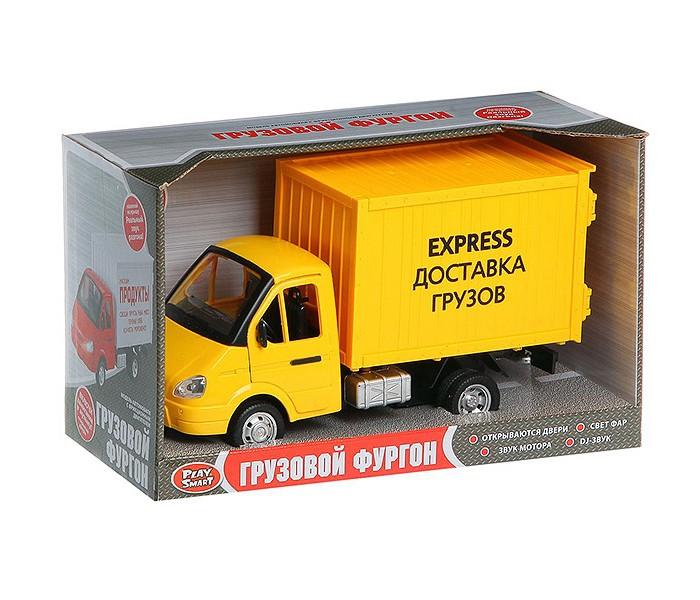 Машины Play Smart Инерционный грузовик Express доставка машины play smart инерционный грузовик продукты