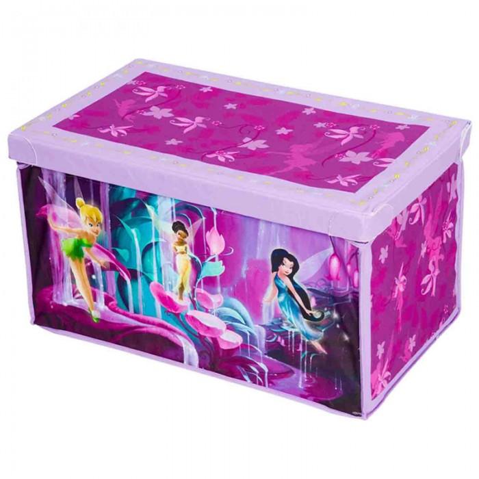 Ящики для игрушек, Disney Мягкий короб для игрушек Феи  - купить со скидкой