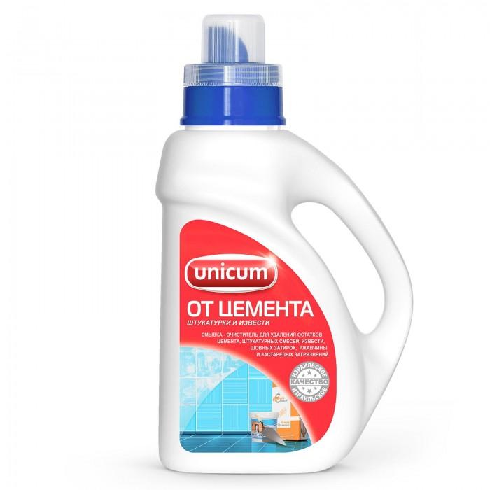 Бытовая химия Unicum Средство для удаления остатков цемента и извести 1 л