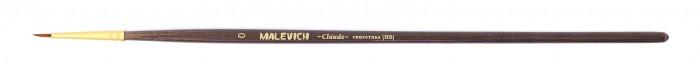 Купить Малевичъ Кисть из синтетики Claude круглая № 0 в интернет магазине. Цены, фото, описания, характеристики, отзывы, обзоры