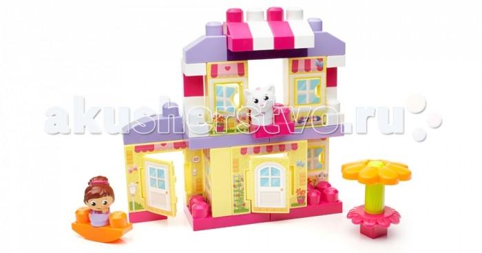 Конструктор Mega Bloks Mattel First Builders Уютный домик (40 деталей)Mattel First Builders Уютный домик (40 деталей)Теперь ваш маленький дизайнер сможет построить забавный загородный дом с набором «Уютный коттедж» серии First Builders от Mega Bloks!   Входящие в набор блоки в виде панелей позволяют быстрее собрать более высокое здание, а блоки с узором делают коттедж настоящим сказочным домиком с дверями и окнами, которые на самом деле открываются!   Используйте стандартные блоки First Builders и специальные детали для строительства здания высотой до полуметра. Украсьте коттедж, создав идеальный загородный дом, в котором смогут играть входящие в набор девочка Block Buddy™ и ее кошка. Добавьте последние штрихи с помощью сборного цветка, который является еще и зонтиком для террасы, а в конце дня покатайте девочку и ее питомца на качелях.  Идеально подходит для детей в возрасте от 1 до 5 лет  Описание: Уютный коттедж из шести панелей позволяет детям, которым нравится строить высокие здания, собрать домик высотой до полуметра. В наборе 40 деталей, включая девочку и кошку Block Buddies™, блоки First Builders и специальные детали. Удобно для маленьких детских рук. Совместим с другими наборами серии First Builders.<br>