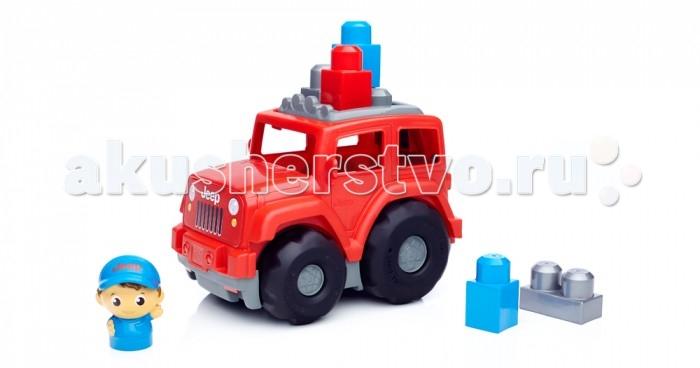 Конструкторы Mega Bloks Mattel Внедорожник (6 деталей) mattel first builders