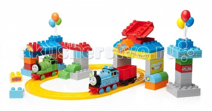 Конструкторы Mega Bloks Mattel Thomas&Friends День рождения Томаса (70 деталей) цена 2016