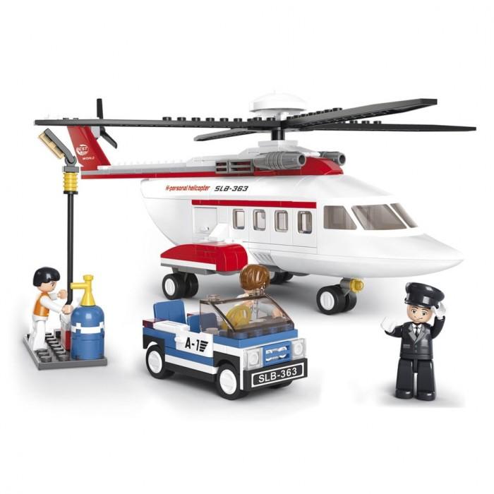 Конструктор Sluban Авиация Вертолет машинка (259 деталей) Г51061-1