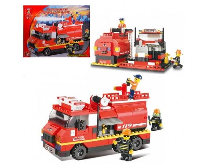 Конструктор Sluban Пожарные спасатели (281 деталь) Г28698